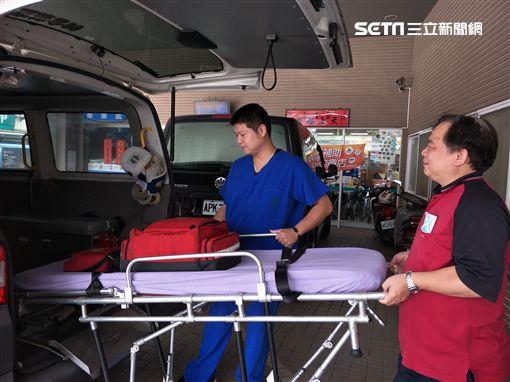 童綜合醫院,救護車,救護技術員,OHCA,AED,CPR,林正盛