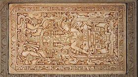 馬雅文化,巴加爾二世,石棺,浮雕,外星人,太空船(圖/維基百科)(圖/Youtube)