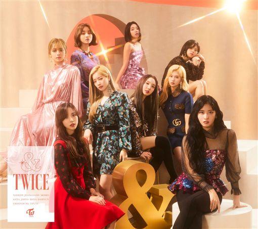 超夯女團TWICE推出新歌《FANCY》。(圖/翻攝自TWICE推特)