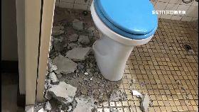 廁所險砸人1800