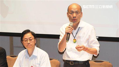 韓國瑜、張善政、吳敦義 韓辦提供