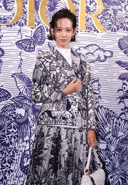 孟耿如出席「DIOR 2020 早春度假系列預覽會」(記者林聖凱)