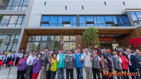 觀音新坡多功能場館正式啟用,三大功能提升鄉村生活品質(圖/桃園市政府)