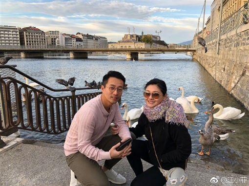 汪小菲、大S。翻攝自微博