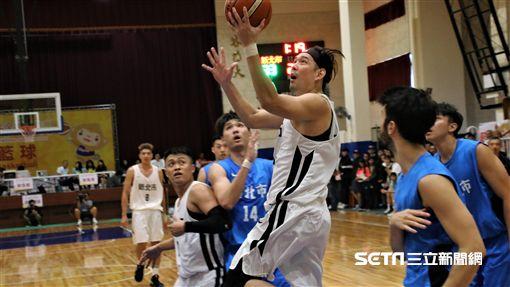 全運會籃球新北市呂政儒。(圖/記者劉家維攝影)