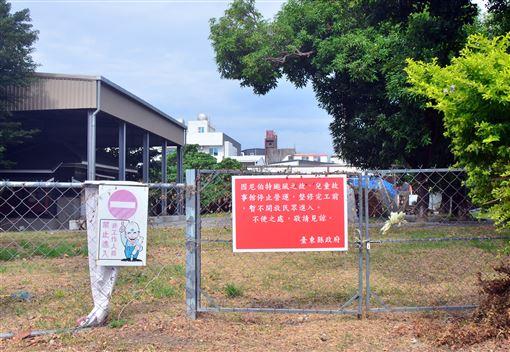 台東縣,兒童故事館,待修,宛廢墟,爭取經費(圖/中央社)