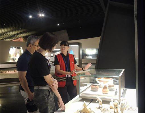 新北市,十三行博物館,招募志工,充滿熱忱,報名踴躍(圖/十三行博物館提供)