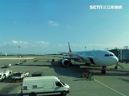 炸彈,航警,旅客,桃園機場,旅客林先生提供