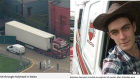 英國卡車貨運箱驚見「39具屍體」 25歲嫌犯遭逮…警:車來自保加利亞(圖/鏡報、太陽報)