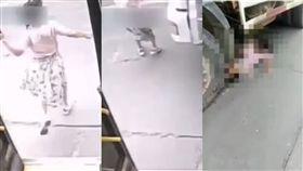 過站停車,公車司機,輾斃,貨車司機,閃避不及,乘客,死亡