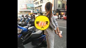 馬尾妹,一中商圈,上圍,頭燈,加藤軍路邊隨手拍,正妹  圖/翻攝臉書