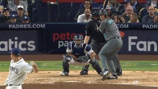 ▲葛蘭基(Zack Greinke)本季敲出8支長打包含3轟,是大聯盟投手最多。(圖/翻攝自MLB官網)