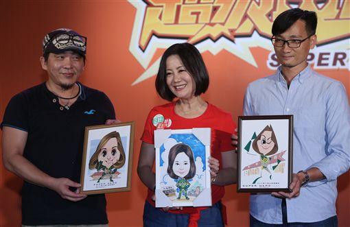台灣漫畫節,漫畫英雄,創作角色,亮點,邁向國際(圖/中央社)