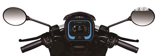 ▲宏佳騰Ai-1 Sport搭載次世代CROXERA儀表系統。(圖/宏佳騰提供)