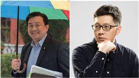 民進黨立委王定宇,桃園市議員王浩宇(圖/翻攝自臉書)