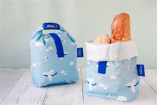 圖4:ANA Pockeat食物袋(圖/ANA提供)