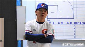 ▲12強中華隊總教練洪一中。(圖/記者王怡翔攝影)