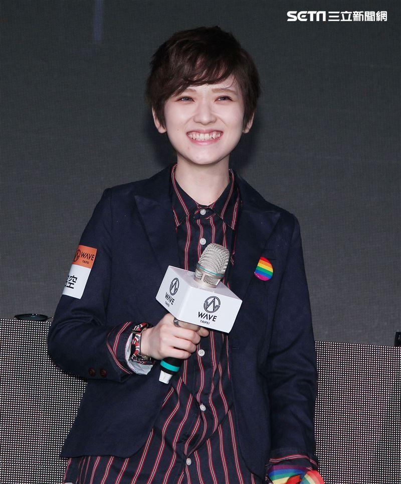 「日本第一女權」椎名空首位公開出櫃的AV女優。(記者邱榮吉/攝影)