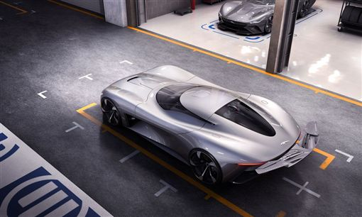 ▲Jaguar Vision Gran TurismoCoupé電動概念車(圖/翻攝網站)