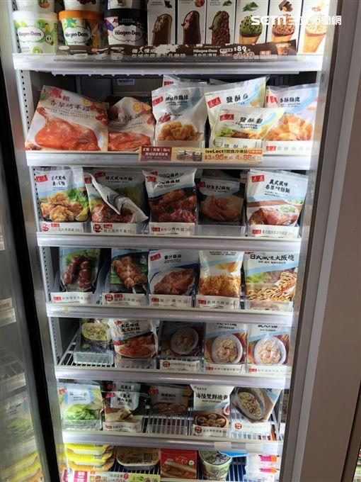 超商微波食品、冷凍食品、711/資料照