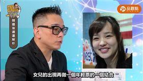 詹惟中認為「韓冰救父」有助於提升韓國瑜民調。(圖/翻攝自品觀點臉書)