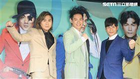 5566將在高雄巨蛋開演唱會發布記者會 記者邱榮吉攝影