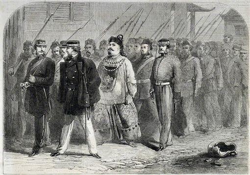 中國,清朝,兩廣總督,英法聯軍,滅亡