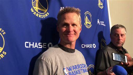 NBA/遭屠殺2場 柯爾曝2大關鍵NBA,金州勇士,Steve Kerr翻攝自推特