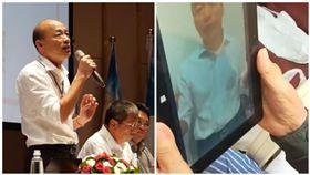 韓國瑜錄片給91歲中風韓粉 家屬:哭得腦血管都通了(圖/翻攝自臉書)