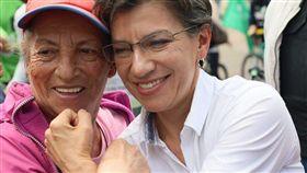 羅培茲(Claudia Lopez),哥倫比亞反貪腐鬥士 當選首位波哥大女市長 (圖/翻攝自Claudia López臉書)