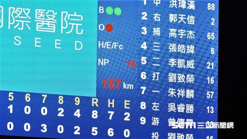 ▲12強中華隊劉致榮。(圖/記者王怡翔攝影)