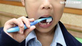 衛生福利部,台北醫院,牙醫,洪素修,齲齒,蛀牙,兒童,刷牙 圖/台北醫院提供