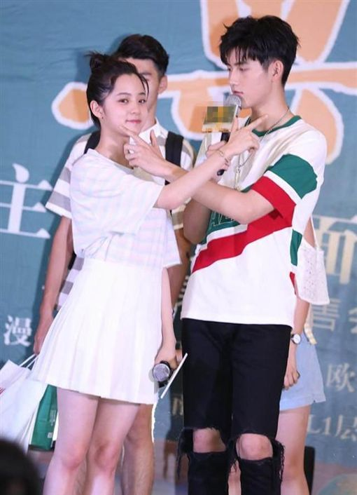陳飛宇、歐陽娜娜。翻攝微博