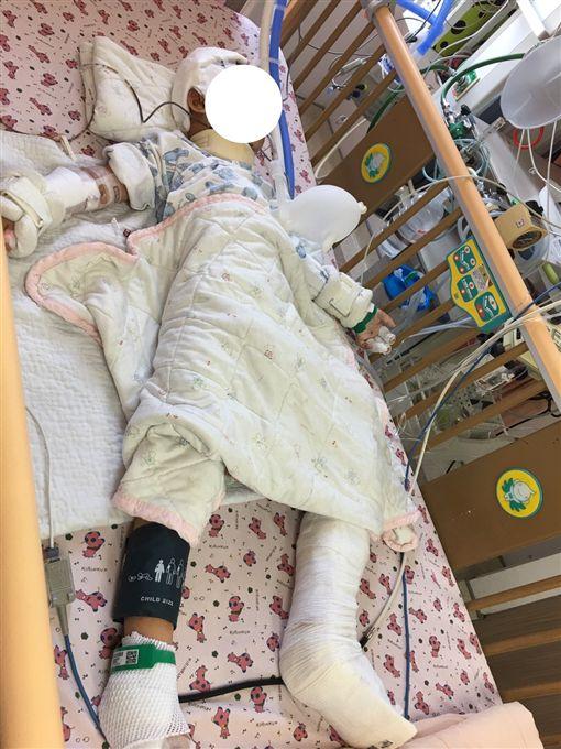 醫院,台南,左腳,粉碎性骨折,加護病房,生活照