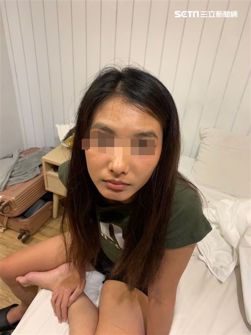 台北市萬華分局搗破淫窟,一舉逮獲5名泰籍女子(翻攝畫面)