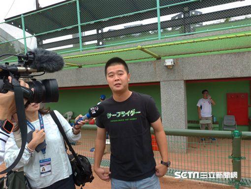 ▲世界棒球12強賽劉致榮王宗豪。(圖/記者蕭保祥攝影)