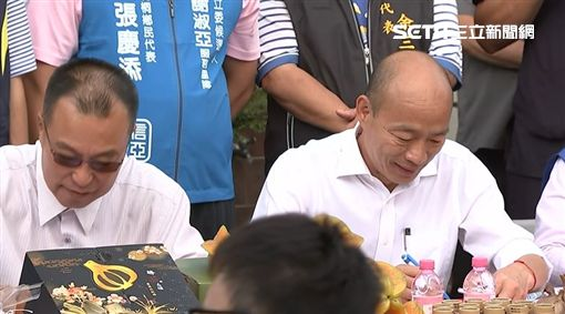 1030韓國瑜雲林豆皮座談會