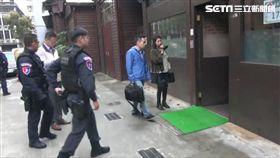 台北市警方掃蕩北聯幫,總計破獲16件40人(翻攝畫面)