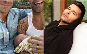 拉丁歌手瑞奇馬汀(Ricky Martin)跟老公加萬約瑟夫(Jwan Yosef)/又迎接第4個孩子。IG