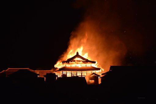 日本,沖繩縣,那霸市,祝融,火災,世界遺產,首里城推特