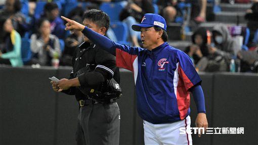 ▲12強中華隊總教練洪一中。(資料圖/記者王怡翔攝影)