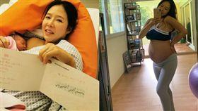 韓國瑜珈老師李素熙(Lee Sohee)因超火辣魔鬼身材以及傲人上圍而爆紅,昨(30)日在Instagram宣布順利產下女兒,照片中一手擁著剛出生的小寶貝,一手曬寶寶的出生證明,洋溢著幸福的笑容,回想起生產當下,字裡行間透露了自己在生產過程中的焦慮與期待。(圖/翻攝自soheefitness_korea IG)