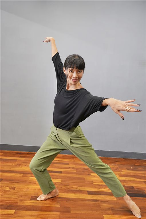 聽障正妹舞者林靖嵐(記者郭奕均攝影、當事人提供)