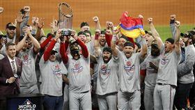 ▲華盛頓國民拿下隊史首座世界大賽冠軍。(圖/美聯社/達志影像)