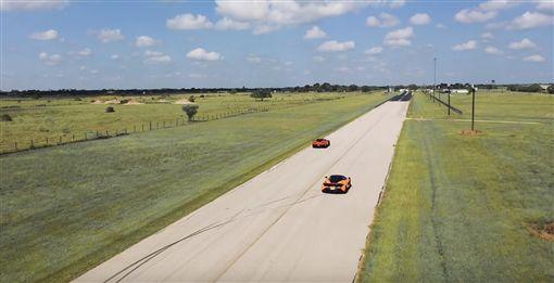 ▲Chevrolet Corvette ZR1 HPE1200 VS McLaren 720S(圖/翻攝網路)