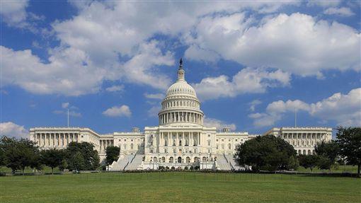 美國國會大廈。(圖/翻攝自維基百科)