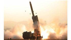 (圖/翻攝自Tongil News)北韓,平壤,火箭,飛彈