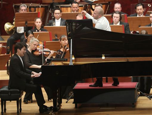 費城管弦樂團,國家音樂廳,演出,聶澤賽金,再相見(圖/中央社)