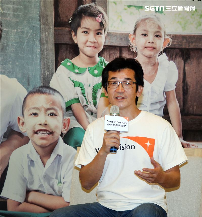 導演魏德聖分享自己在八月份前往緬甸甘蔗田(Kyangin)計畫區行程中的收穫與感動。(記者邱榮吉/攝影)