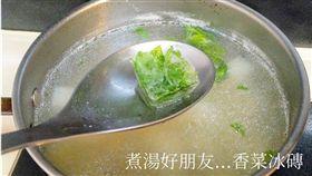 香菜,冰磚,保存,味道(翻攝自廚藝公社)